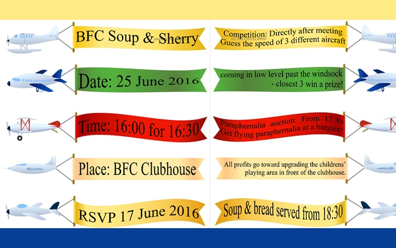 BFC SOUP & SHERRY