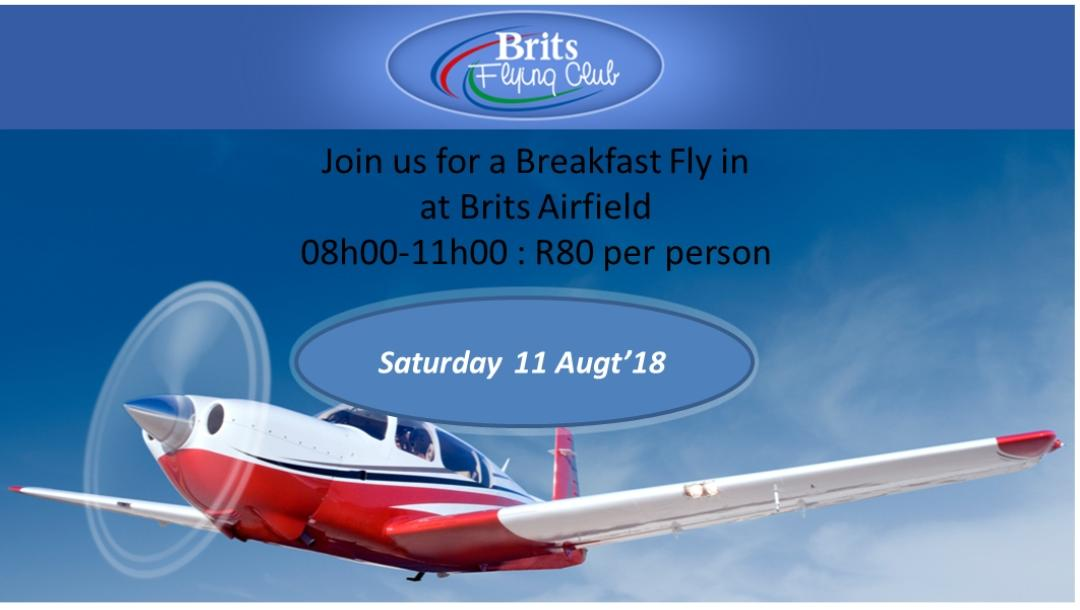 Breakfast Fly In at Brits Airfield